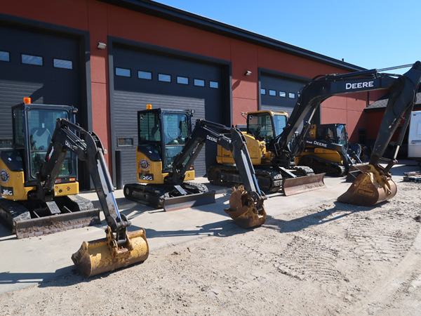 Excavator Auctions in Abbotsford